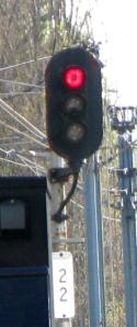 Stop, signal 22