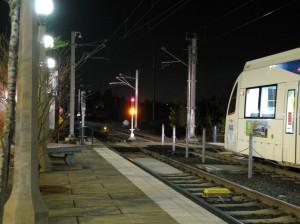 Train entering Elmonica yard