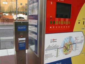 Ticket validator out of order