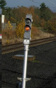 Two aspect signal