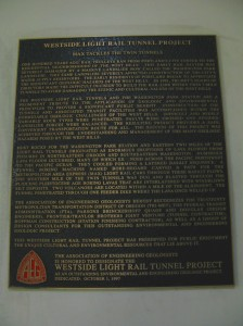 Tunnel dedication