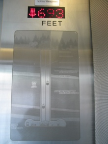 Elevator at the surface level