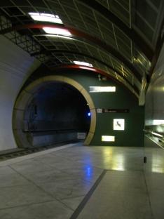 Western platform, eastern bore