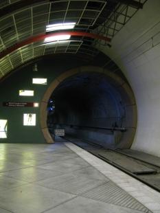 West platform, west bore
