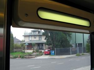 Blank interior sign, Type 1 on Interstate