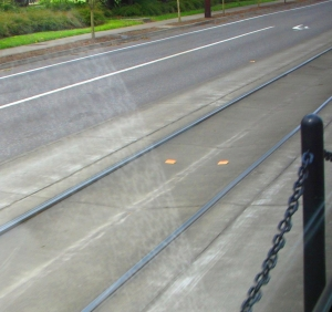 Decision point marker Interstate