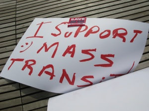 I support Mass Transit