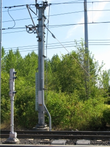 Weighted catenary at about 100 F