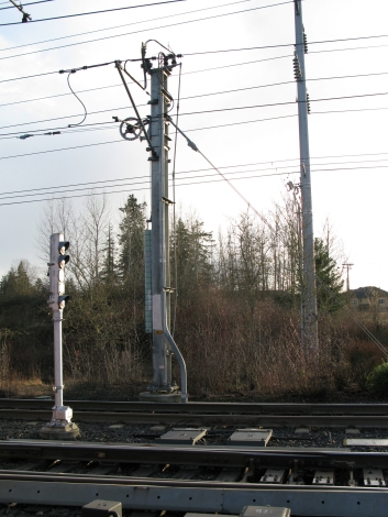 Weighted catenary, February 2010
